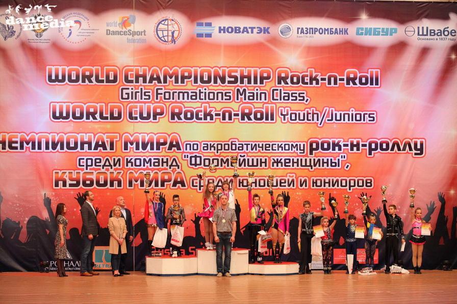 Чемпионата мира по акробатическому рок-н-роллул