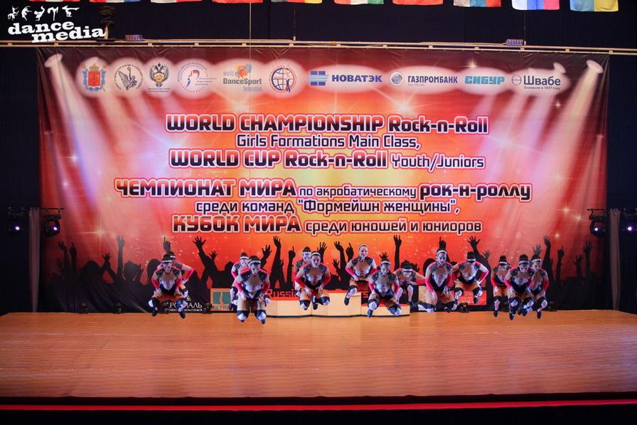 Чемпионата мира по акробатическому рок-н-роллу